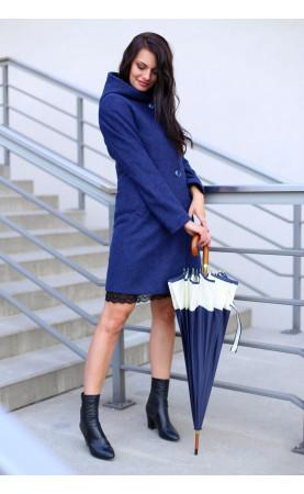 Sportowy płaszcz o klasycznym kroju, Wygodna odzież wierzchnia na co dzień od Choice