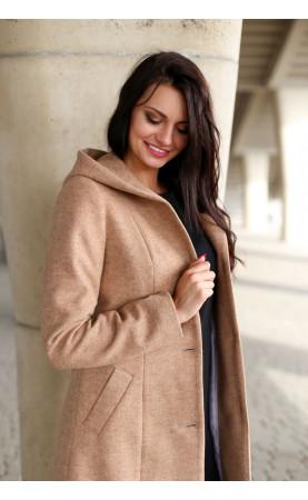 Klasyczny płaszcz ze stylowym kapturem, Profilowane płaszczyki na każdą okazję od Choice