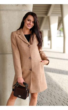Klasyczny płaszcz z jednorzędowym zapięciem, Eleganckie okrycia wierzchnie na każdą figurę od Choice