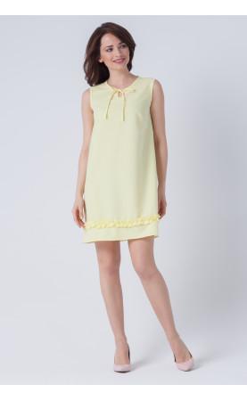 Mini Sukienka Kate Żółta