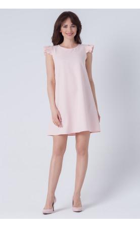 Mini Sukienka Lisi Różowa