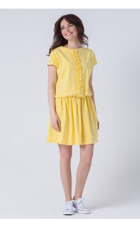 Piękna sukienka o sportowym kroju, Zwiewne sukienki na lato od Choice