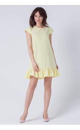 Mini Sukienka Sally Żółta