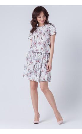 Wakacyjna sukienka z rozcięciem na plecach, Nowoczesne sukienki dla kobiet XL od Choice