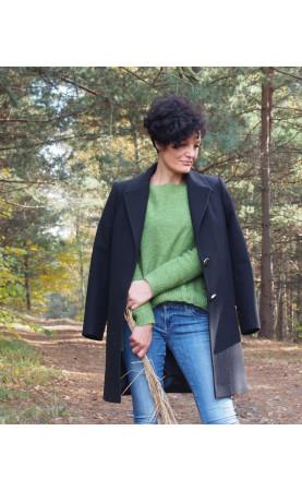 Sportowy płaszczyk z długimi rękawami, Nowoczesne płaszczyki od Polskiego producenta od Choice