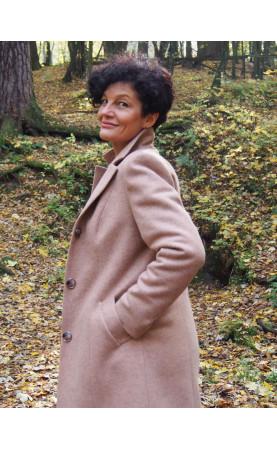 Koktajlowy płaszcz do sukienki wizytowej, Piękne płaszcze do pracy od Choice