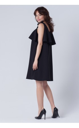 Czarna mini sukienka, Trapezowe stylizacje na każdą okazję od Choice