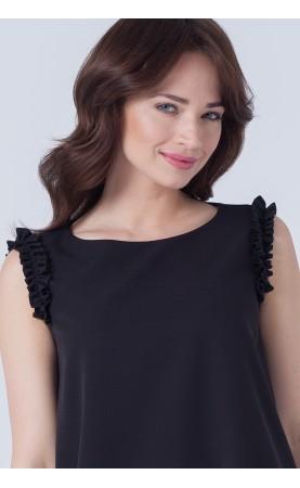 Śliczna sukienka z ozdobnymi ramionami, Eleganckie kreacje dla kobiet w każdym wieku od Choice