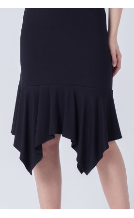 Zjawiskowa sukienka mini, Nowoczesne kreacje w kolorze czarnym od Choice