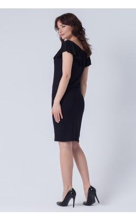 Wiskozowa suknia wyszczuplająca sylwetkę, Piękne kreacje na co dzień od Choice