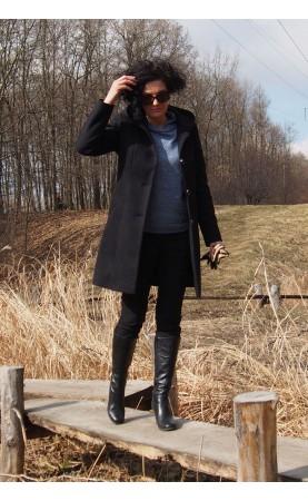 Ocieplony płaszcz z kapturem, Piękne płaszczyki z oryginalnymi dodatkami od Choice
