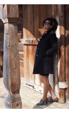 Piękny płaszcz na ważne uroczystości, Olśniewające płaszcze damskie na zimę od Choice