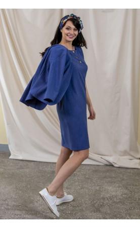 Lekko zwężana sukienka w kolorze jeansu, Modne kreacje na każdą okazję od Choice