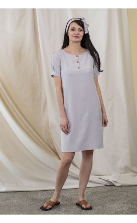 Lniana sukienka na kolacje romantyczne, Wieczorowe stylizacje od Choice