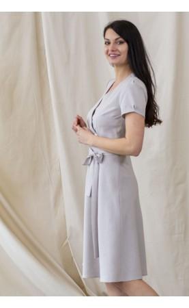 Piękna sukienka z krótkim rękawkiem, Eleganckie kreacje na wielkie wyjścia od Choice