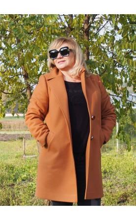 Klasyczny płaszczyk na zimę, Modne płaszcze z długimi rękawami od Choice