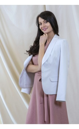 Elegancka marynarka zapinana na jeden guzik, Piękne żakiety od polskiego producenta odzieży damskiej od Choice