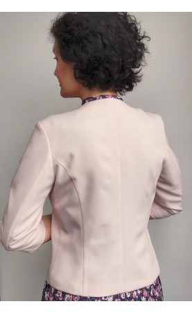 Profilowana marynarka z rękawkiem 3/4, Eleganckie żakiety na podszewce od Choice