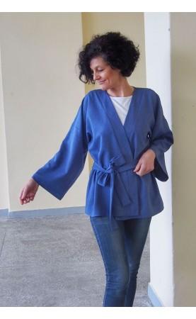 Zjawiskowe kimono w niebieskim kolorze, Wieczorowe stylizacje dla każdego od Choice