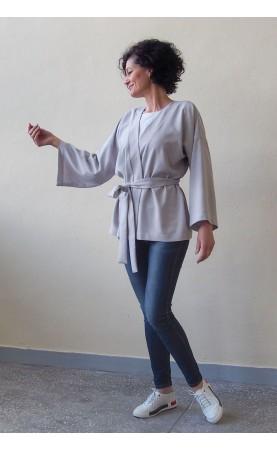 Modne kimono z szerokimi rękawami, Nowoczesne stylizacje na co dzień od Choice