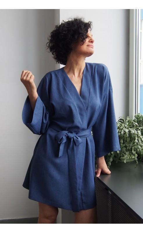 Elegancka suknia z szerokimi rękawami, Luźne kreacje na spotkania ze znajomymi od Choice