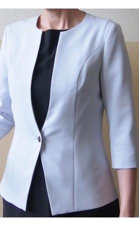 Profesjonalna odzież wizytowa, Eleganckie marynarki podkreślające wcięcie w talii od Choice
