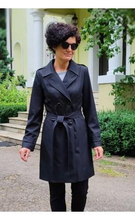 Czarny trencz wizytowy, Ponadczasowe płaszcze do każdej stylizacji od Choice