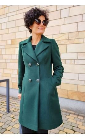 Damski płaszczyk o profilowanym kroju, Ładne okrycia wierzchnie do spodni lub sukienki od Choice