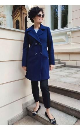 Profesjonalny płaszcz na każdą okazję w zimowej aurze, Wygodne okrycia wierzchnie z kieszeniami od Choice