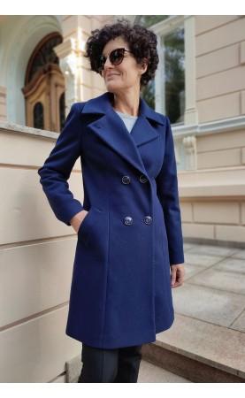 Zimowy płaszcz w modnym kolorze, Urocze okrycia wierzchnie w nowoczesnym stylu od Choice