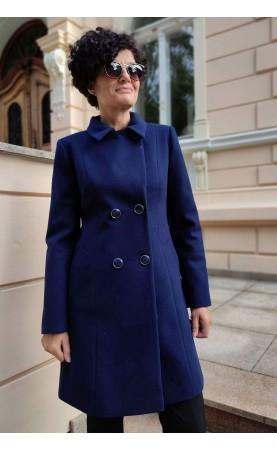Koktajlowy płaszcz z dwurzędowym zapięciem, Nowoczesne okrycia wierzchnie na uroczystości rodzinne od Choice