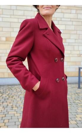 Wyjątkowo piękny płaszcz w oryginalnym stylu, Taliowane okrycia wierzchnie na co dzień od Choice