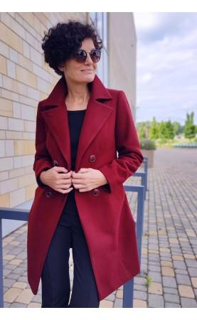 Modny płaszcz z ślicznym kołnierzem i bocznymi kieszeniami, Najnowsze okrycia na sezon zimowy od Choice