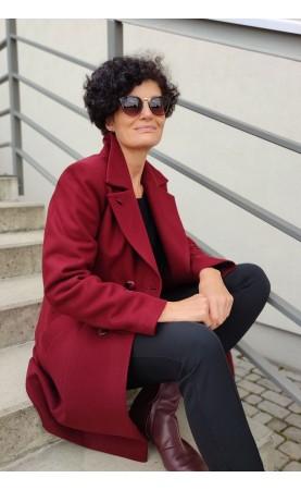 Oryginalny płaszcz dla kobiet w każdym wieku, Ciepłe i wygodne okrycia wierzchnie do pracy od Choice