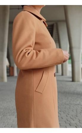 Koktajlowy płaszcz do sukienki wizytowej, Camelowe okrycia wierzchnie do teatru lub opery od Choice