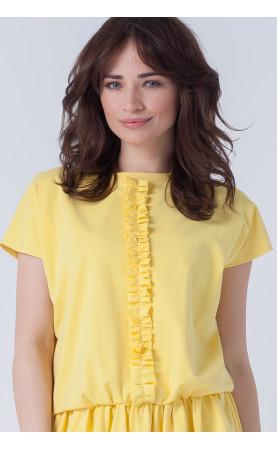 Żółta sukienka na lato, Nowoczesne kreacje o oryginalnym kroju od Choice