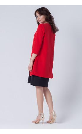 Piękny żakiet bez zapięcia z rękawkiem 3/4, Nowoczesne marynarki wizytowe dla businesswoman od Choice