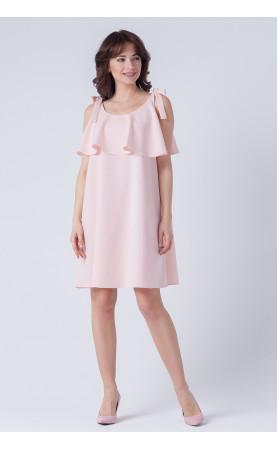 Mini sukienka z falbaną, Nowoczesne stylizacje dla kobiet w każdym wieku od Choice