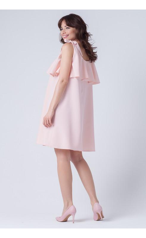 Trapezowa sukienka bez rękawów, Piękne kreacje wizytowe na imprezy firmowe od Choice