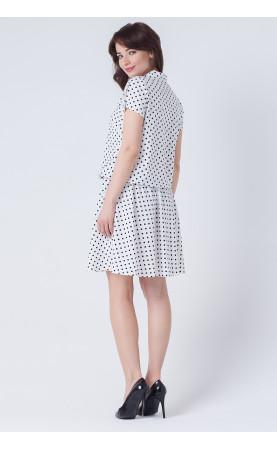 Nowoczesna sukienka z stójką, Modne kreacje na lato od Choice