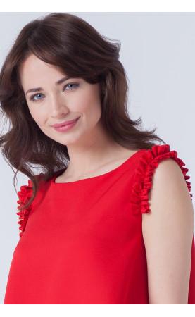 Koktajlowa sukienka z ozdobnymi ramionami, Modne kreacje mini na każdą okazję od Choice