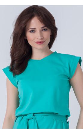 Nowoczesna sukienka z delikatnym rękawkiem, Wizytowe stylizacje do pracy w biurze od Choice