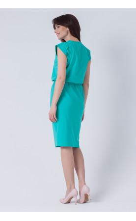 Stylowa suknia za kolano, Ołówkowe sukienki na wakacje od Choice