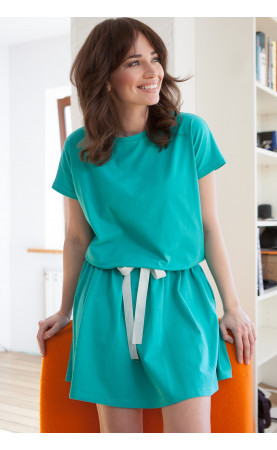 Zielona sukienka na wakacje, Wygodne kreacje na imprezy w plenerze od Choice