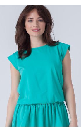 Oryginalna sukienka na lato, Zielone kreacje na plażę od Choice