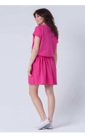 Nowoczesna sukienka do pracy, Różowe kreacje wizytowe na każdą okazję od Choice