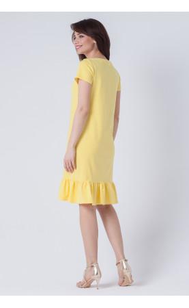 Śliczna sukienka na niedzielny obiad, Wiosenne kreacje z krótkim rękawem od Choice