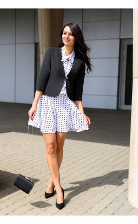 Uniwersalny żakiet do sukienki spódnicy lub spodni, Hit sezonu - eleganckie marynarki do pracy od Choice