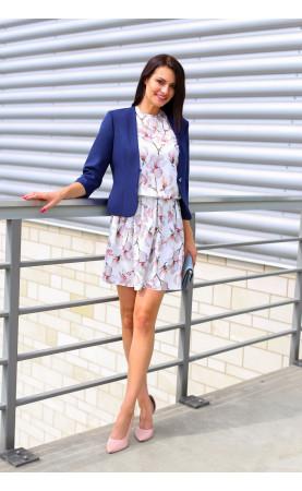 Ekskluzywny żakiet do wiosennej sukienki, Biznesowy look od Choice