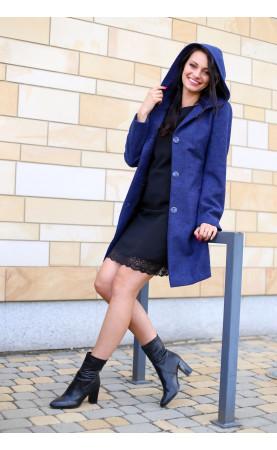 Elegancki płaszcz z kapturem, Piękne płaszcze wizytowe na każdą okazję od Choice